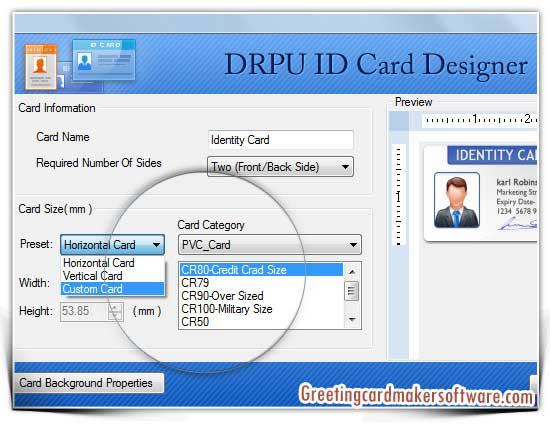 Windows10up.com Download Free ID Card Maker Software 8 2 0 1 full screenshot